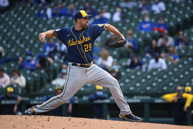 The Brewers designated pitcher Josh Lindblom for assignment in the middle of a three-year contract after he went 2-4 with a 6.39 ERA in 20 games (10 starts), with 11 homers allowed in 62 innings and a 1.468 WHIP.