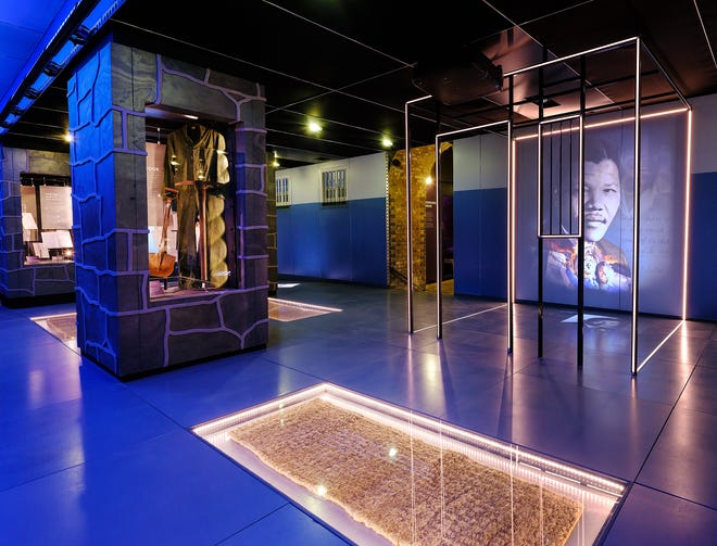 'Mandela: The Official Exhibition' is at the Milwaukee Public Museum through Aug. 1. The exhibit shows different parts of Nelson Mandela's life, including the time he spent as a political prisoner.