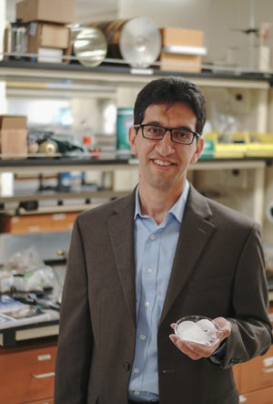 Reza Foudazi, an associate professor in New Mexico State University's Department of Chemical Engineering, is the recipient of the first NMSU Intellectual Property Award, which honors NMSU faculty or staff who have developed intellectual property with demonstrated societal, industrial or commercial benefits.