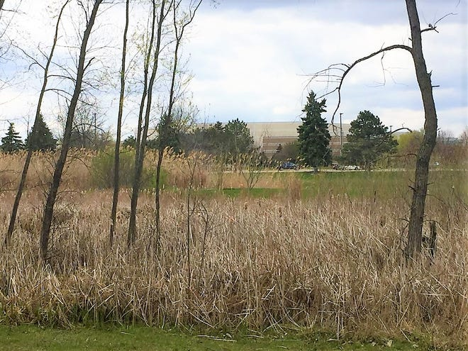 NorthRidge Church looms just a few hundreds yards from the property being debated.