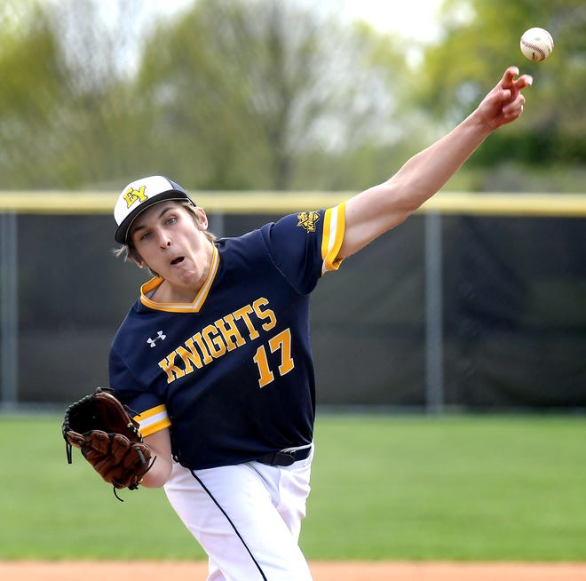 Eastern York's Evan Rishell is the York-Adams League Division III Pitcher of the Year.