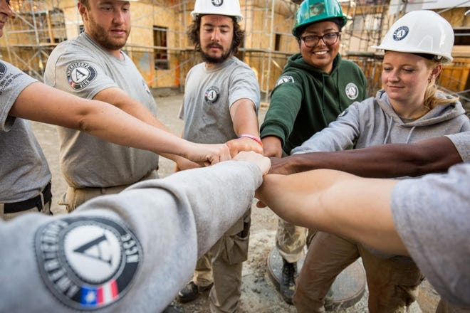 An AmeriCorps team will assist Richmond Parks and Recreation Department during May and June.