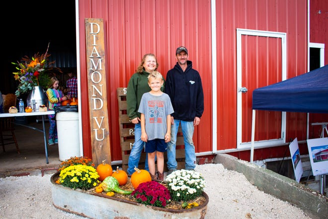 Nicole and Mike Butler purchased their 28-acre farm in the town of Sheboygan Falls to house their agriculture education nonprofit, Diamond Vu.