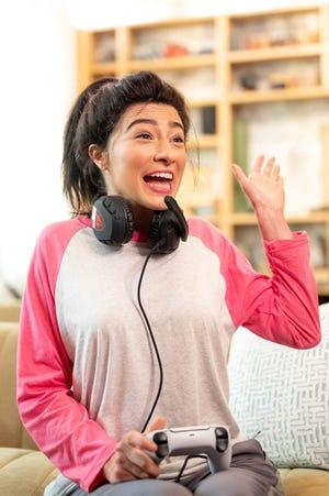 Melissa Villaseñor impersonates Sarah Silverman for the 2021 Film Independent Spirit Awards broadcast on April 22, 2021.
