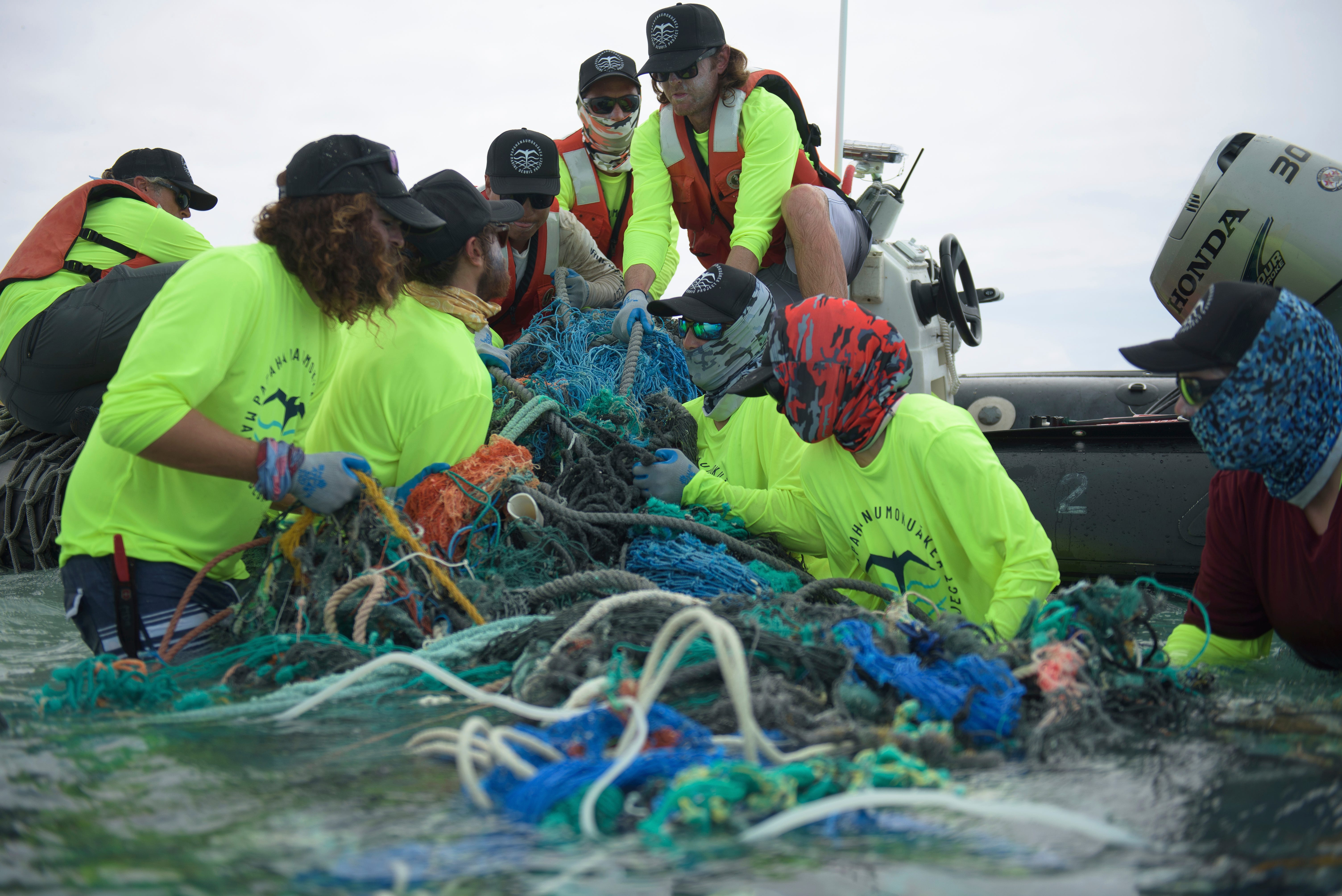 If we re not up there cleaning up this threat, nobody is : Team hauls more than 47 tons of marine debris out of Pacific Ocean
