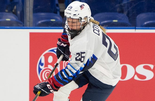 Kendall Coyne Schofield was upset that the International Ice Hockey Federation didn't have a backup plan for the Women's World Championship.