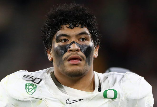 Penei Sewell opted out of his final season at Oregon due to the COVID-19 pandemic.