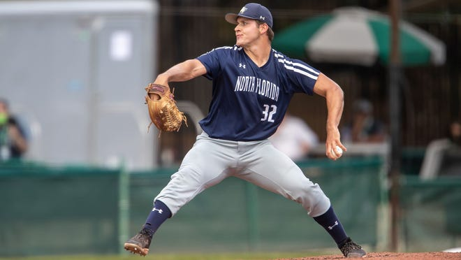 University of North Florida pitcher Tony Roca of Ponte Vedra Beach turned in the longest outing for an Ospreys starter since 2019 when he went 8.2 innings in an 8-5 victory over Jacksonville.