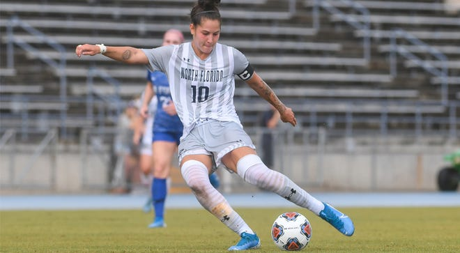 University of North Florida senior forward Thais Reiss was named the ASUN women's soccer player of the year.
