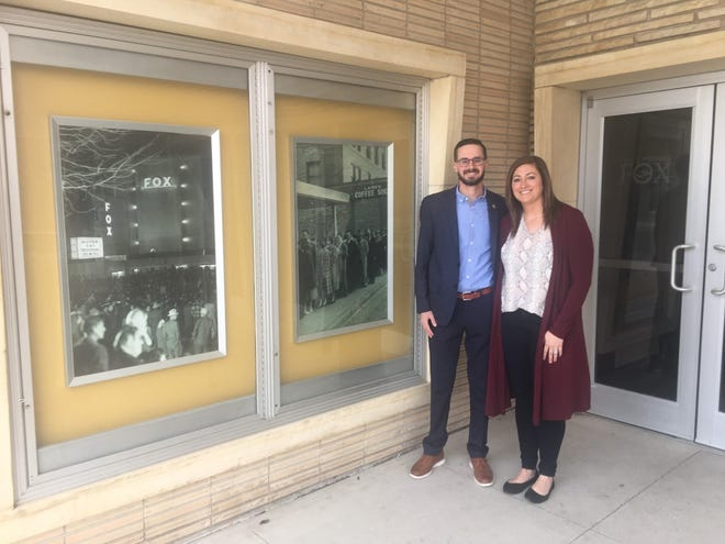 Dustin and Laney Roths have entered into an agreement to buy the Fox theater at 1202 Main.