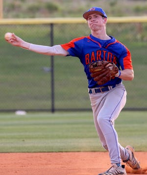 Bartow's Jonathan Vastine was one of the top pitchers in the county but will play shortsop at the next level.