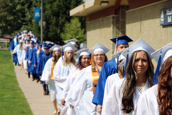 The Otero Junior College graduation will take place in multiple ceremonies this year on April 30, May and May 5. Students will have tickets for family and friends. All events can be viewed virtually on the OJC web site.