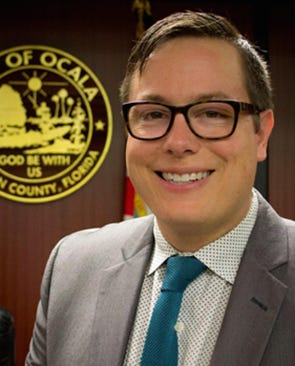 Ocala City Councilman Matthew J. Wardell announced his resignation from the council.