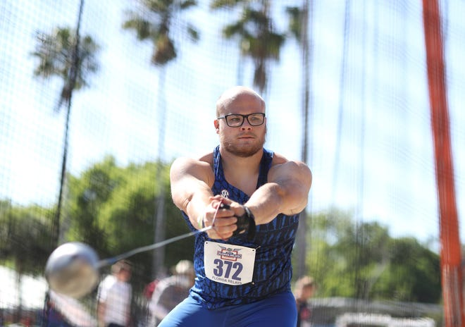 Florida's Thomas Mardal was named SEC Men's Field Athlete of the Week earlier this month.