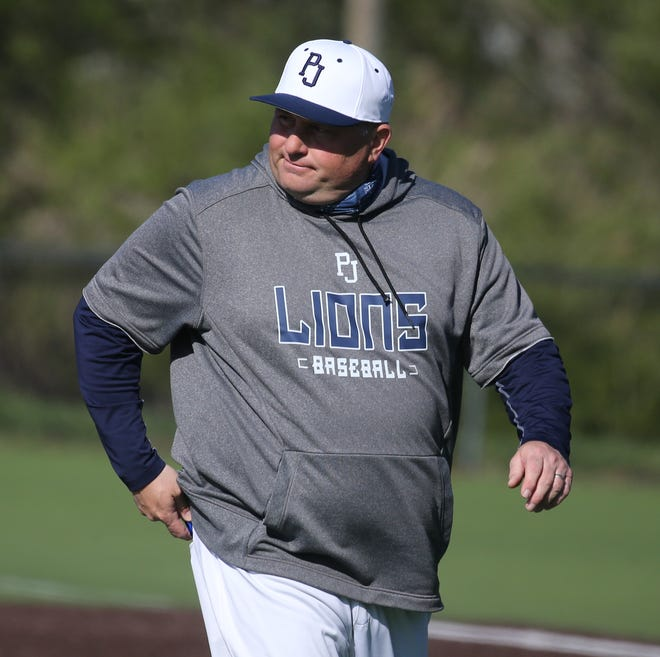 Coach Vin Bello and the Pope John baseball team were awarded the No. 2 seed in the Hunterdon/Warren/Sussex Tournament on May 11. The Lions are the defending champions, last winning the title in 2019.