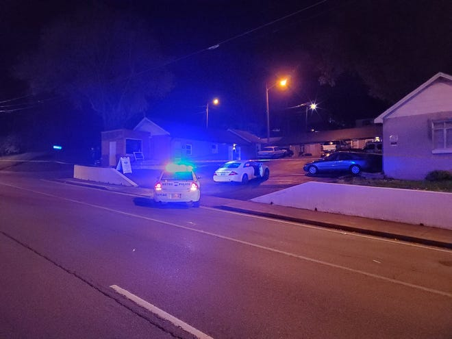 Officer Christopher Royer fatally shot a man during a traffic stop in Nashville's Bordeaux neighborhood early Saturday, April 24, 2021, after the man charged the officer with a weapon, a police spokesman said.