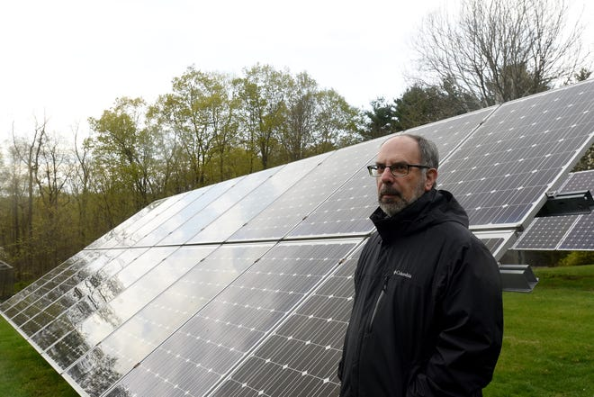 Abram Kaplan, professor of Environmental Studies at Denison, has had solar panels on his property to provide roughly 95% of the power. Kaplan came to Granville – and Denison – in the early1990s to begin working as Assistant Professor and Director of Environmental Studies' at Denison.