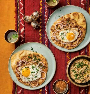 """Fava beans are a common Egyptian breakfast, and this version is from """"Eat, Habibi, Eat!: Fresh Recipes for Modern Egyptian Cooking"""" by Shahir Massoud."""