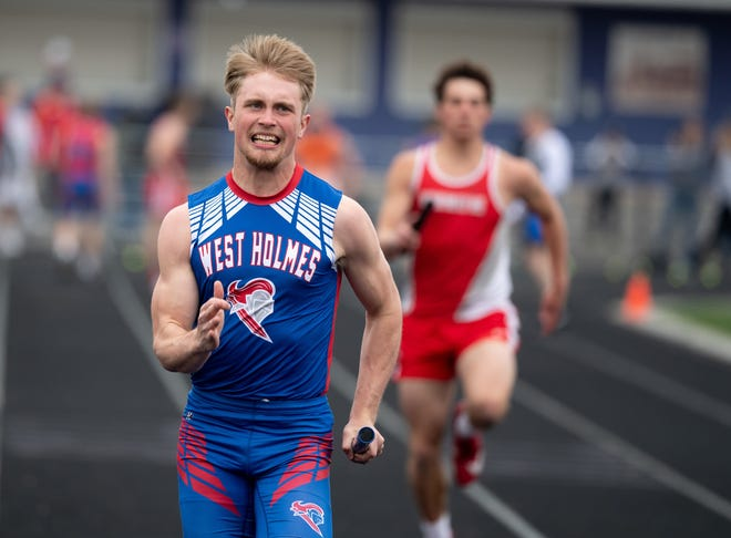 West Holmes' Brady Taylor has been one of the top runners in the area, leading all runners in the 200 and 400.