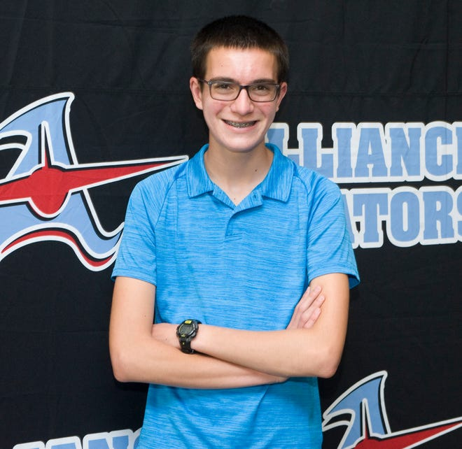 Jordan Schwartz, a sophomore at Alliance High School, scored a perfect 36 on the ACT college entrance exam.