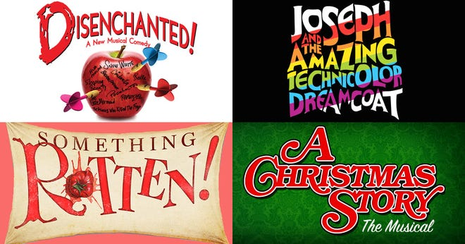 """The Croswell Opera House's 2021 season will feature two outdoor productions, """"Disenchanted!"""" and """"Joseph and the Amazing Technicolor Dreamcoat,"""" and two shows in the theater, """"Something Rotten!"""" and """"A Christmas Story."""""""
