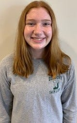 Alli Brown of Duxbury High has been named to The Patriot Ledger All-Scholastic Girls Swimming/Diving Team.