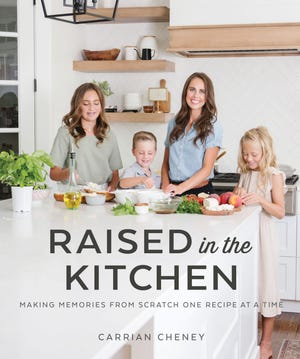 """The Carrian Cheney's cookbook is subtitled """"Making Memories from Scratch One Recipe at a Time."""""""