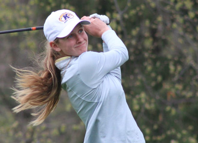 Kent State senior Emily Price shot 10-under par over three rounds to take first place individually at the Illini Women's Invitational earlier this week.