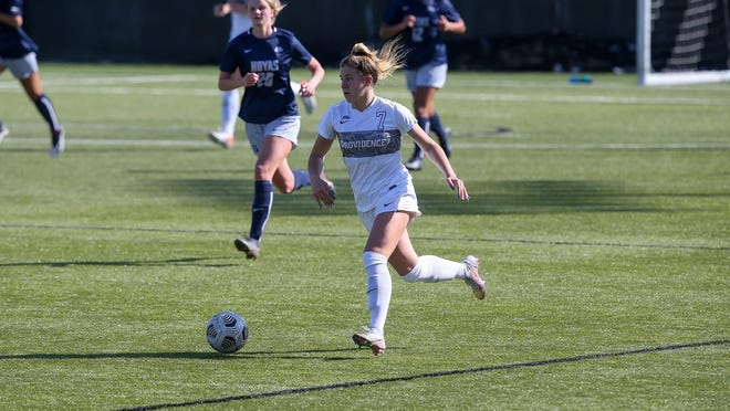 Old Rochester graduate Meg Hughes was named the Big East Conference Freshman of the Year for Women's Soccer.