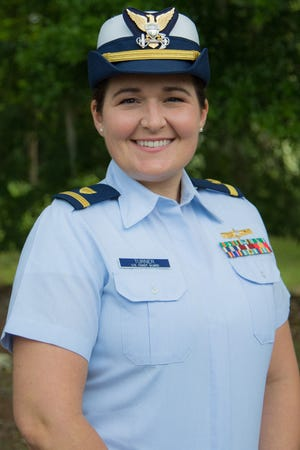 Ensign Savanna Turner of Gainesville is the April 2021  Florida Department of Agriculture and Consumer Services' Veteran of the Month.