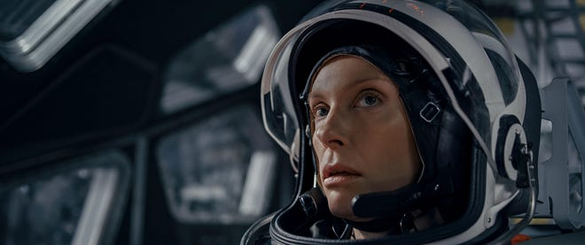 Commander Marina Barnett (Toni Collette) needs to maintain order when things go wrong.