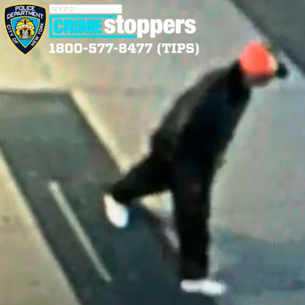 NY police seek man who kicked 61-year-old Chinese American in head 1