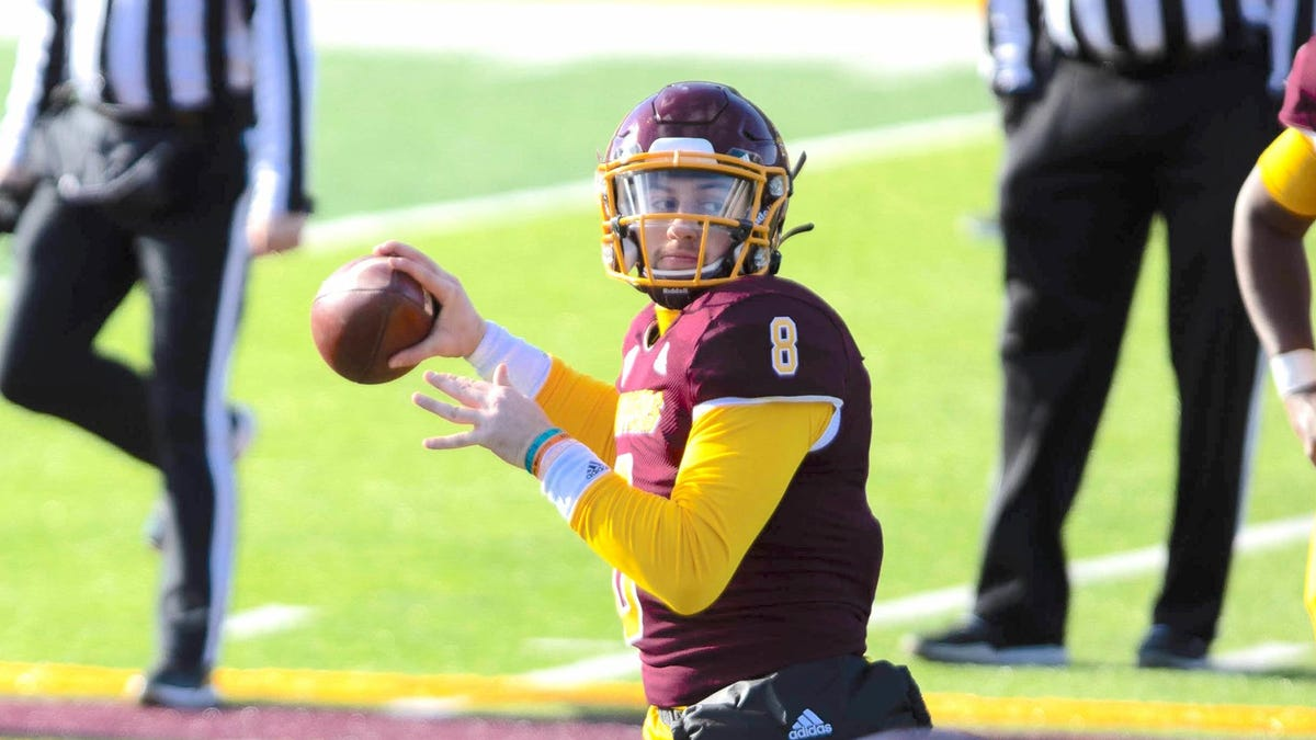 CMU quarterback 'fighting, seeing positives' after being shot at party; one arrest made 1