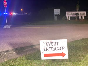 The Lee County Sheriff's Office responded to a shooting in the Charleston Park area Saturday night.