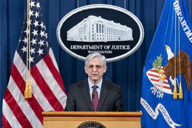 Attorney General Merrick Garland announced a civil investigation into Minneapolis policing practices. (Andrew Harnik/Pool/Getty Images)