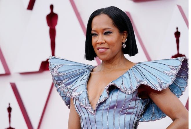 """Regina King – who directed this year's Oscar-nominated film """"One Night in Miami"""" – didn't mince words in her opening speech at this year's Academy Awards."""