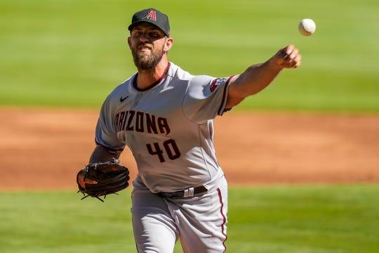 Arizona Diamondbacks starting pitcher Madison Bumgarner threw an unofficial, seven-inning no-hitter against the Atlanta Braves.