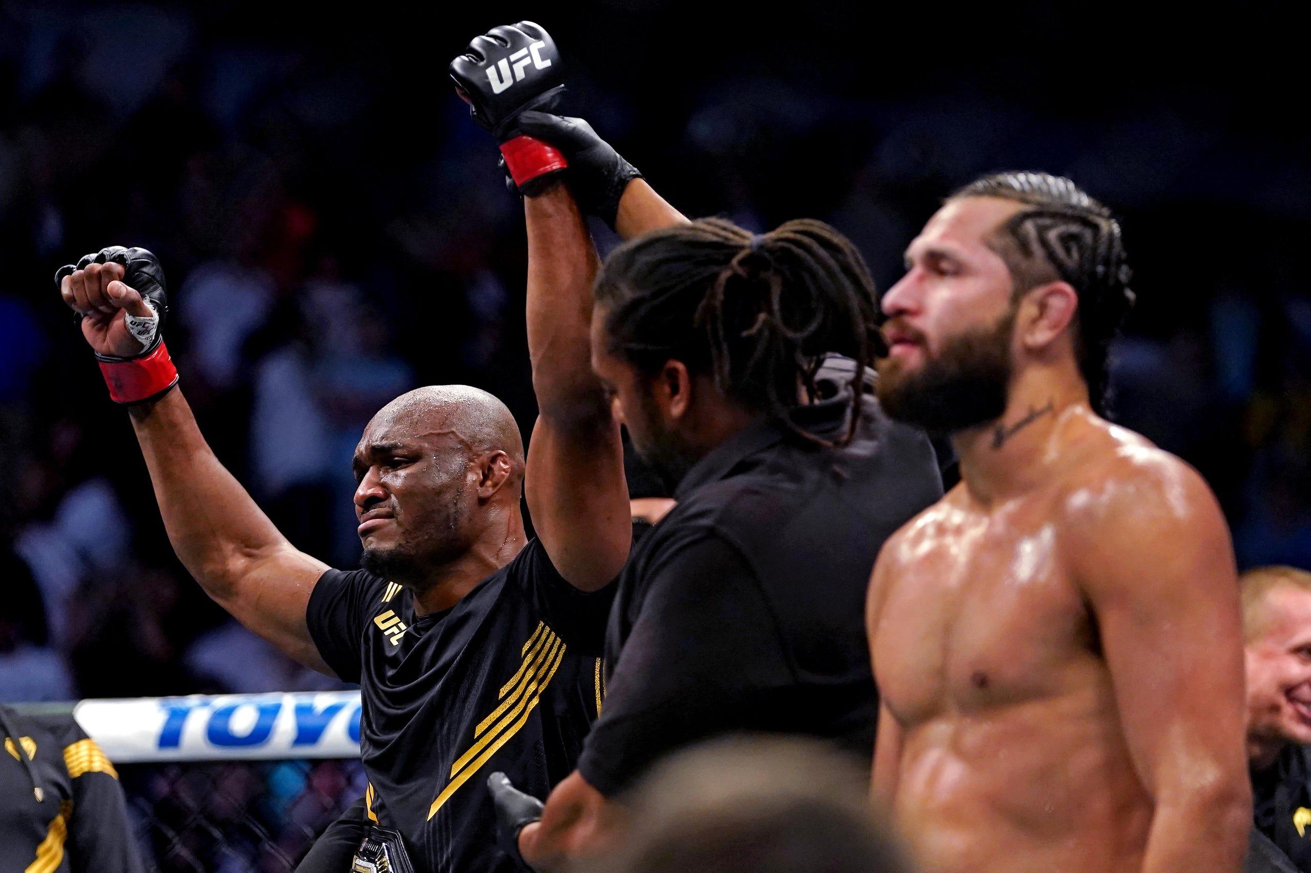 UFC 261: Best photos from Kamaru Usman vs. Jorge Masvidal 2