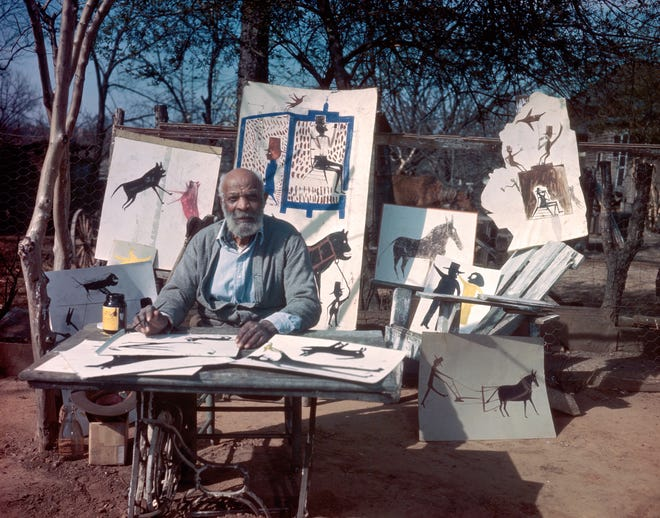 """Artist Bill Traylor is shown in this photo from the Alabama State Council on the Arts. The new documentary feature """"Bill Traylor: Chasing Ghosts"""" is currently available for streaming rental at Athens Ciné."""