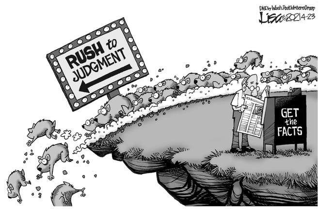 Editorial Cartoon April 29, 2021