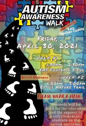 An Autism Awareness Walk has been organized in Estill, S.C.