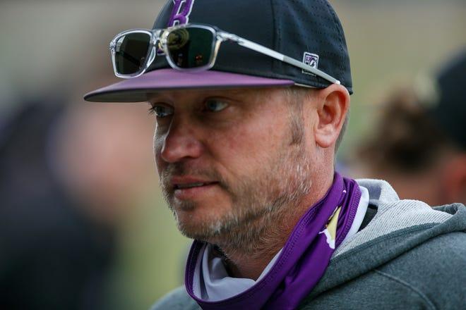 Butler baseball Head Coach BJ McVay picked up win No. 300 in a win over Seward County on Sunday, April 25 at McDonald Stadium in El Dorado, Kansas.