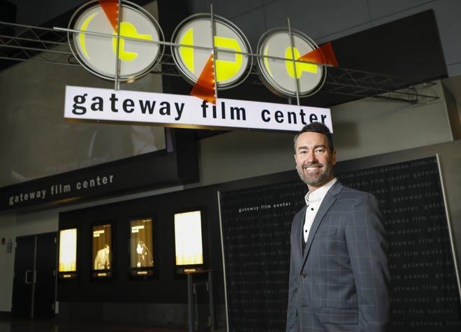 Gateway Film Center President Chris Hamel is looking forward to opening later this month.