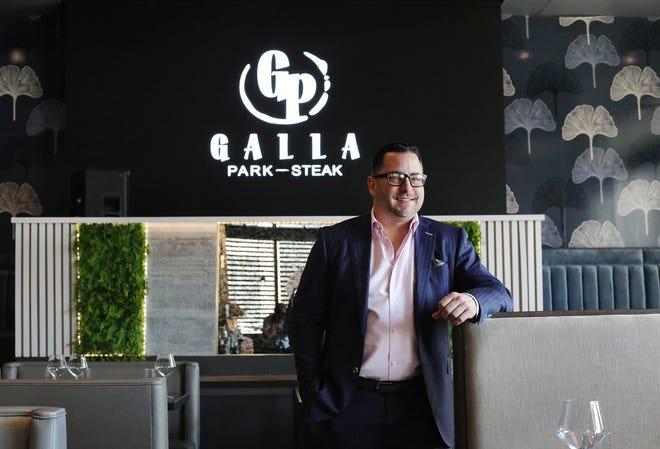 Galla Park Steak general manager Scott Miller poses for a portrait at the restaurant on Friday, April 23, 2021.