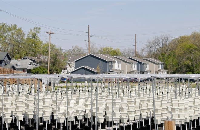 The Mid-Ohio Food Collective's vertical farm, on Wheatland Avenue on the Hilltop, will benefit from the agency's $30-million fundraising campaign.