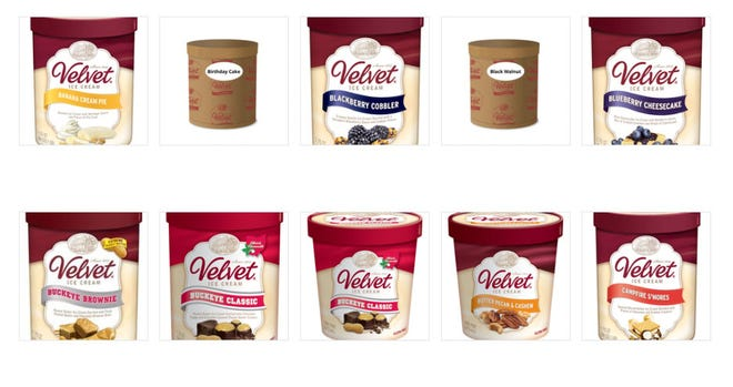 Velvet Ice Cream has recalled all its products sold since March 24.