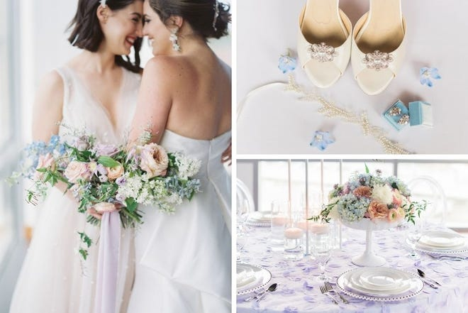 Styled wedding shoot at the Ivory Room