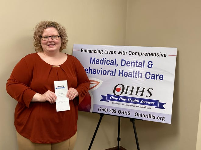 Brandy Stephens, patient accounts counselor with OHHS