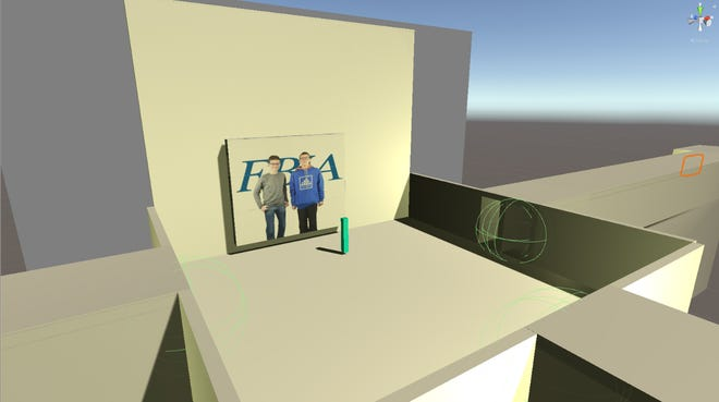 A screenshot of William Bucknam and Cristian Ciccarelli's game.