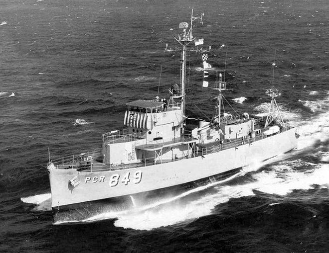USS Somersworth.jpg: The USS Somersworth who would bear the city's name for many years.